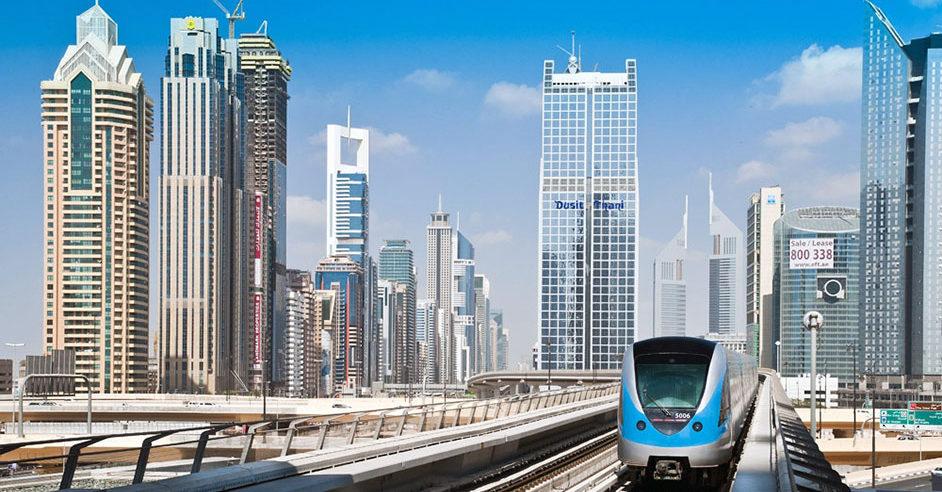 Dubai Metro Light Rail System