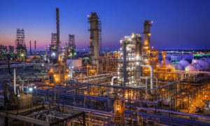 Texas City Oil Refinery