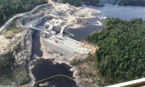 White River Hydro Dam